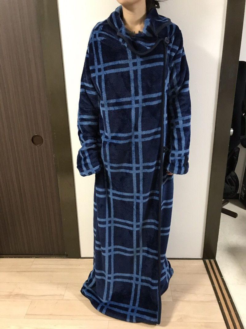 ニトリ 着る 毛布 軽い、暖かい、暖房いらず。ニトリの好評「着る毛布」保湿タイプから...
